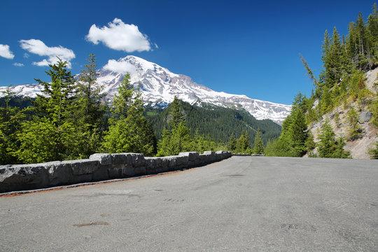 Scenic View of Mount Rainier