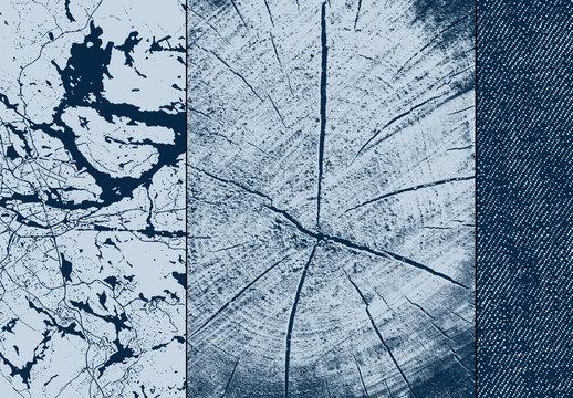 Kit artístico de texturas naturales