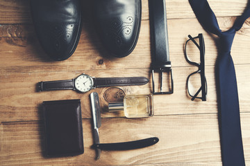 Different accessories for men