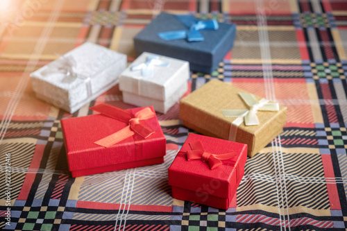 Cute Gift Boxes For Xmas Colorful Gifts Box Christmas Presents In