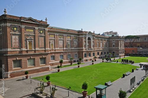Museo Del Vaticano.Roma Citta Del Vaticano Giardini E Musei Vatican Stock Photo And
