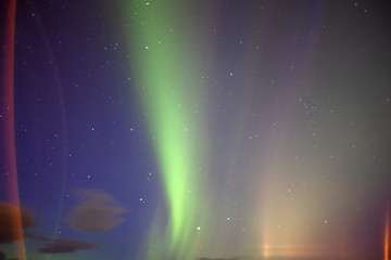 The amazing Aurora Borealis in Iceland