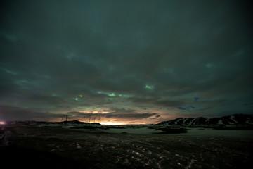 The beautiful Icelandic landscape