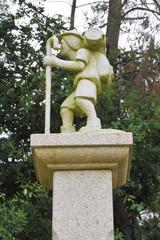 Camino de Santiago de Compostela, symbols indicative for pilgrims on Way