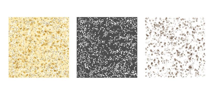 Gray Texture pattern set