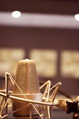 Recording audio studio microphone
