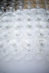 Wine glasses hotel wedding party