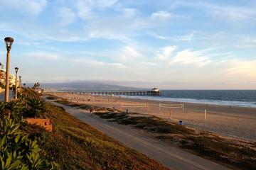 Beach Pier View