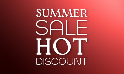 Summer Sale Hot Discount -