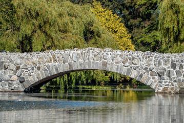 Stone Bridge over a river, Canada