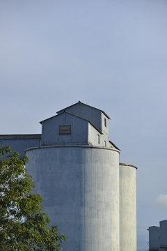 Industrial Scene, Worcester, MA