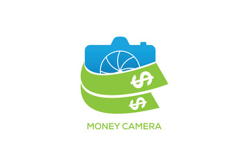 MONEY CAMERA LOGO DESIGN
