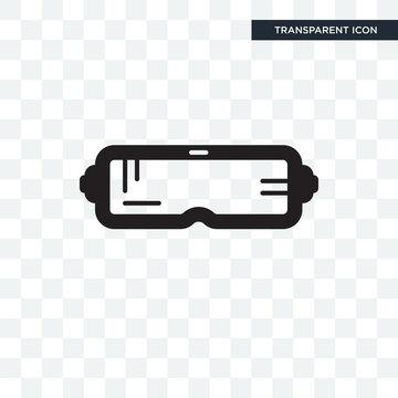 Oculus rift vector icon isolated on transparent background, Oculus rift logo design
