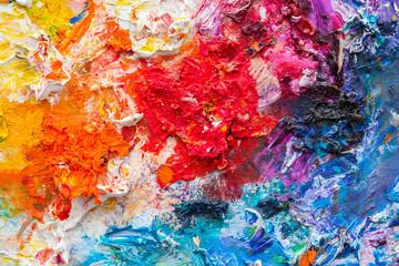 Artist color palette Background