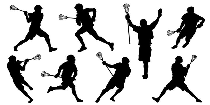 lacrosse silhouettes