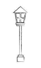 lamppost light decoration exterior ornament