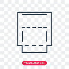 Unite vector icon isolated on transparent background, Unite logo design