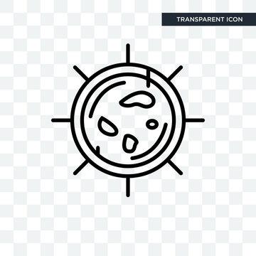 Big Cellule vector icon isolated on transparent background, Big Cellule logo design