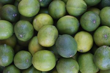 Citrons verts. / Limes.