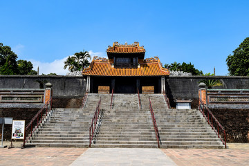ベトナム フエ トゥドゥック帝廟