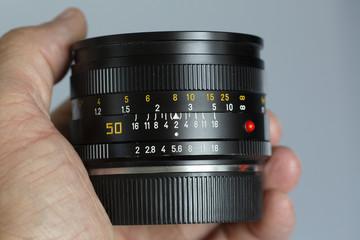 analog single-lens reflex camera lens