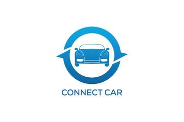 CONNECT CAR LOGO DESIGN