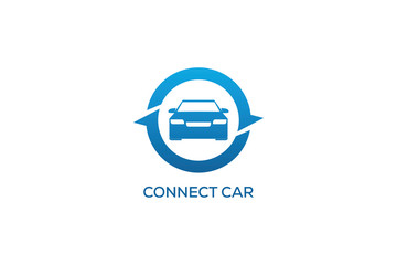 CONNECT CAR LOGO DESIGN