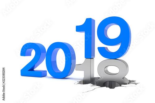 2018 2019 silvester neujahr countdown jahreszahlen. Black Bedroom Furniture Sets. Home Design Ideas