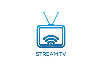 STREAM TV LOGO DESIGN
