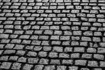 Kopfsteinpflaster Perspektive Blickwinkel