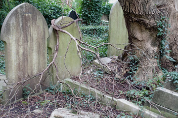 Cemetery east londres