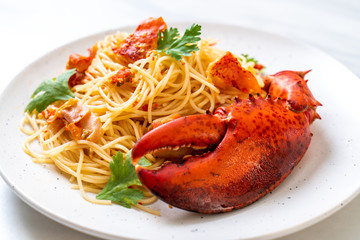 Pasta all'astice or Lobster spaghetti