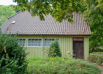 Holzhaus im Kurpark Bad Salzetfurth