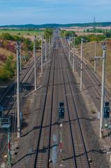 ICE-Strecke bei Almstedt