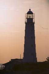 The Tarkhankut lighthouse. Cape Tarkhankut