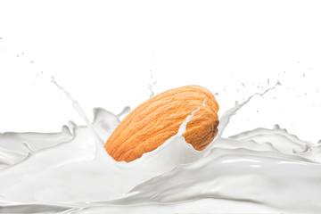 Almond With Milk Splash