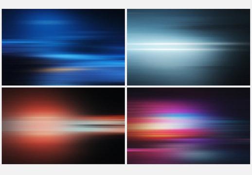 Adjustable Light Effect Background Layouts