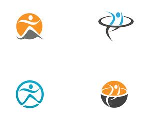 Health life logo vectors