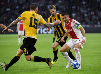 Champions League - Group Stage - Group E - Ajax Amsterdam v AEK Athens