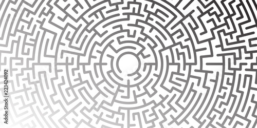 Background With Graphic Abstract Geometry Labyrinth Pattern Black Cool Labyrinth Pattern