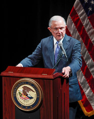 U.S. Attorney General Jeff Sessions speaks at Valor Survive and Thrive Conference in Waukegan