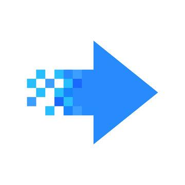 Pixel-right arrow