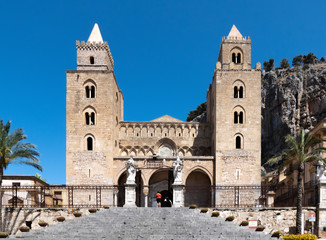 The Cathedral of Cefalù, Sicily, Italy