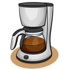 Vector coffee machine design concept