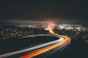 Light Trails to Twin Peaks