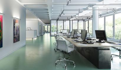 Büroeinrichtung 01 (Konzeption)