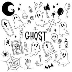 Ghost Illustration Pack
