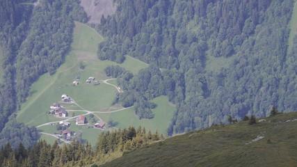 Bergdorf Alpen Österreich