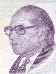 Aydin Sayili portrait from Turkish money