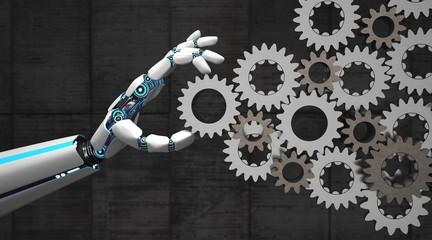 Robot Hand Gears